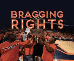 Bragging Rights; Auburn Team with Foy Trophy