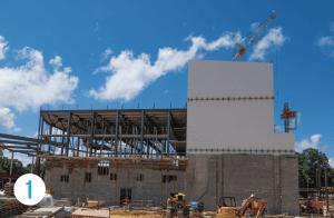 1 Performing Arts Center under construction