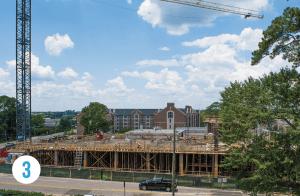 3 Leach Science Center Under Construction