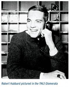 Robert Hubbard pictured in the 1963 Glomerata