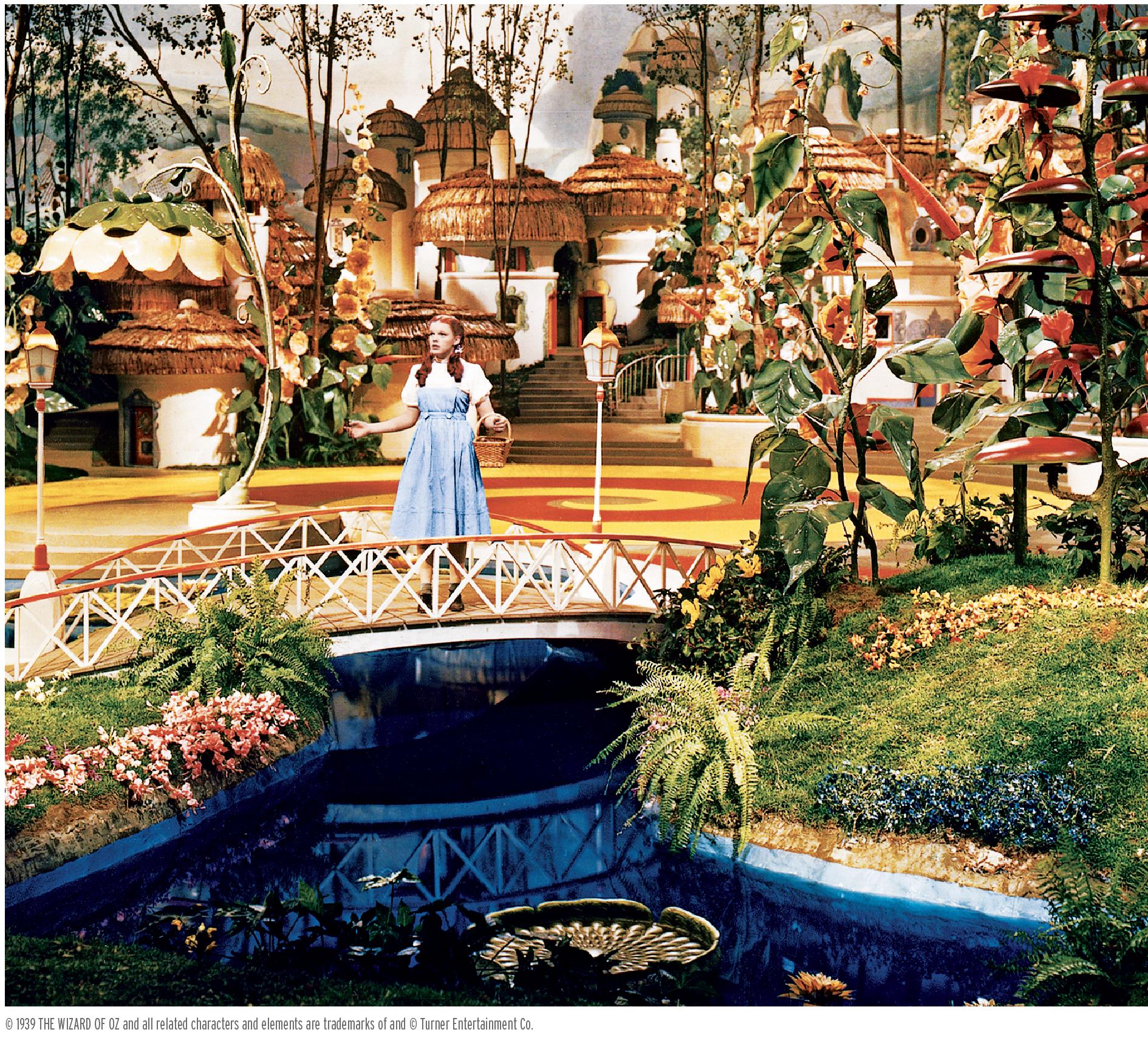 Dorothy in Munchkinland