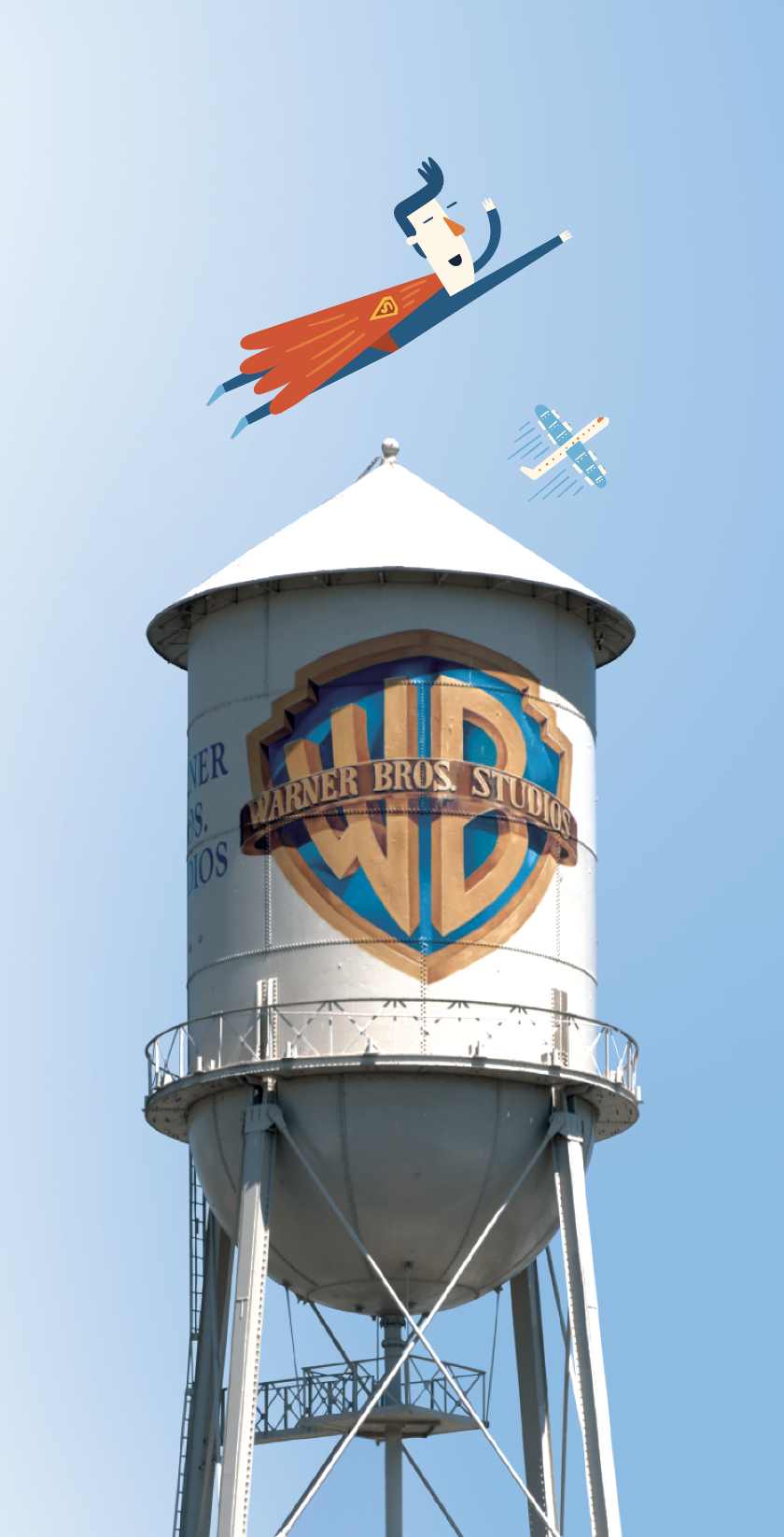 Warner Brothers Water Tower