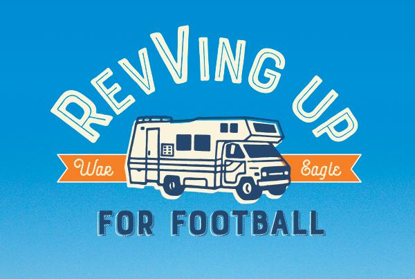 Revving Up For Football; War Eagle