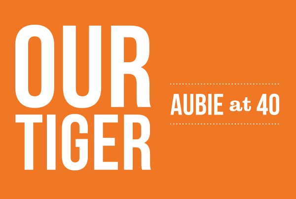 Our Tiger Aubie at 40