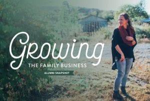 Growing the Family Business Alumni Snapshot