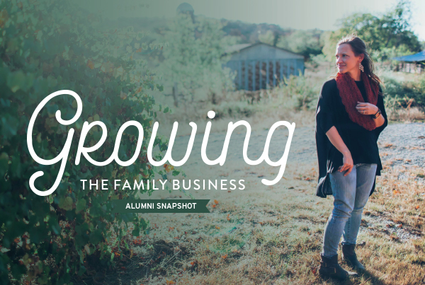 Growing the Family Business Alumni Snapshot