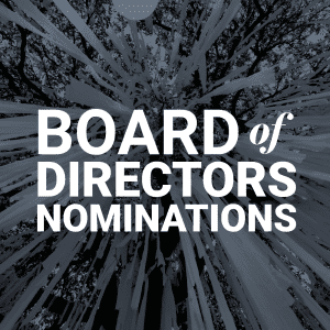 Board of Directors Nominations