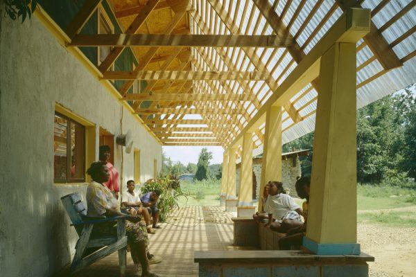 Haybale House