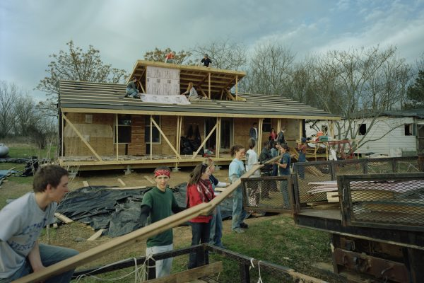 Rose Lee's House under construction