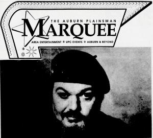 The Auburn Plainsman Marquee Area Entertainment, UPC Events, Auburn and Beyond