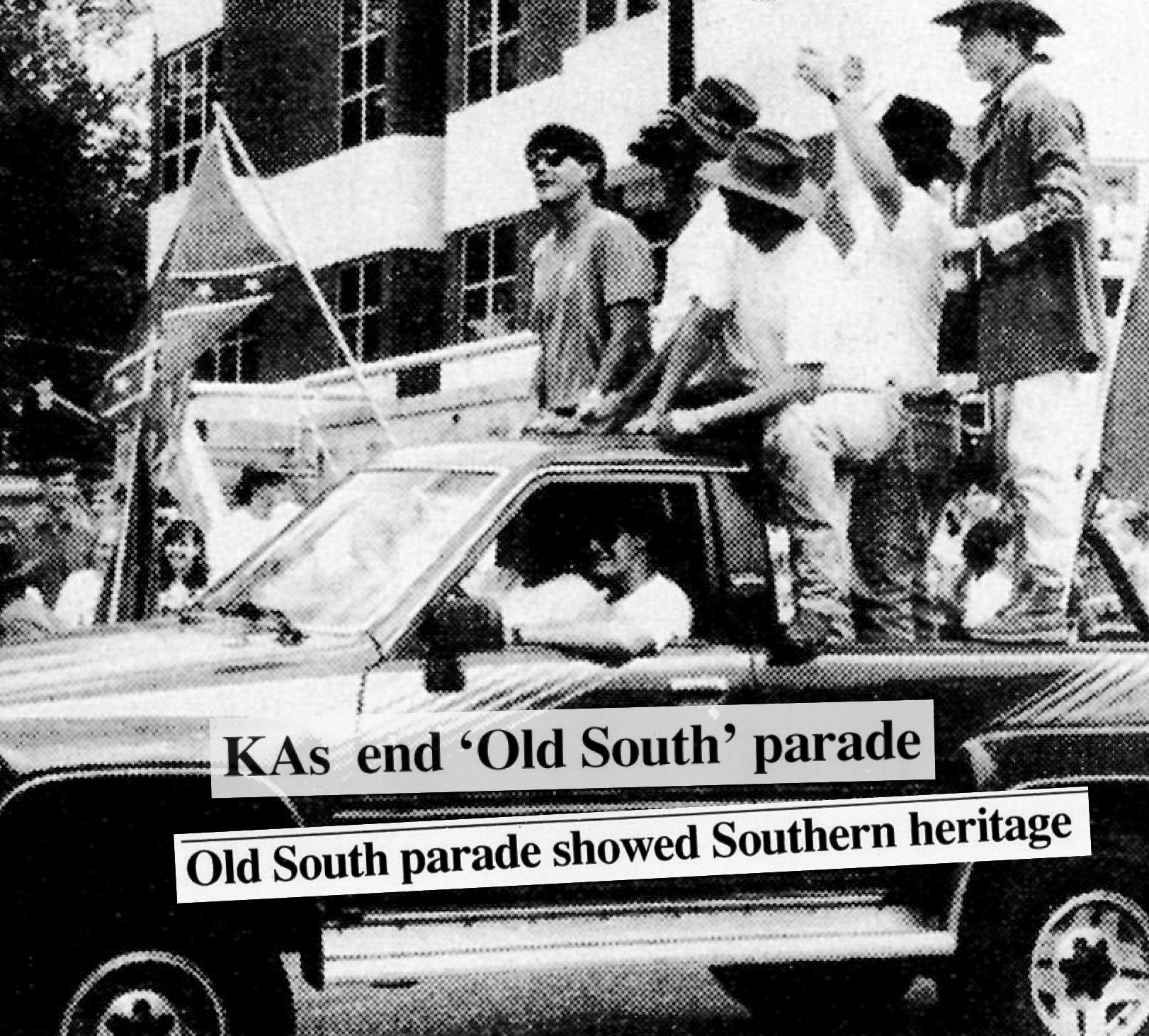KAs end 'Old South' parade, Old South parade showed Southern heritage