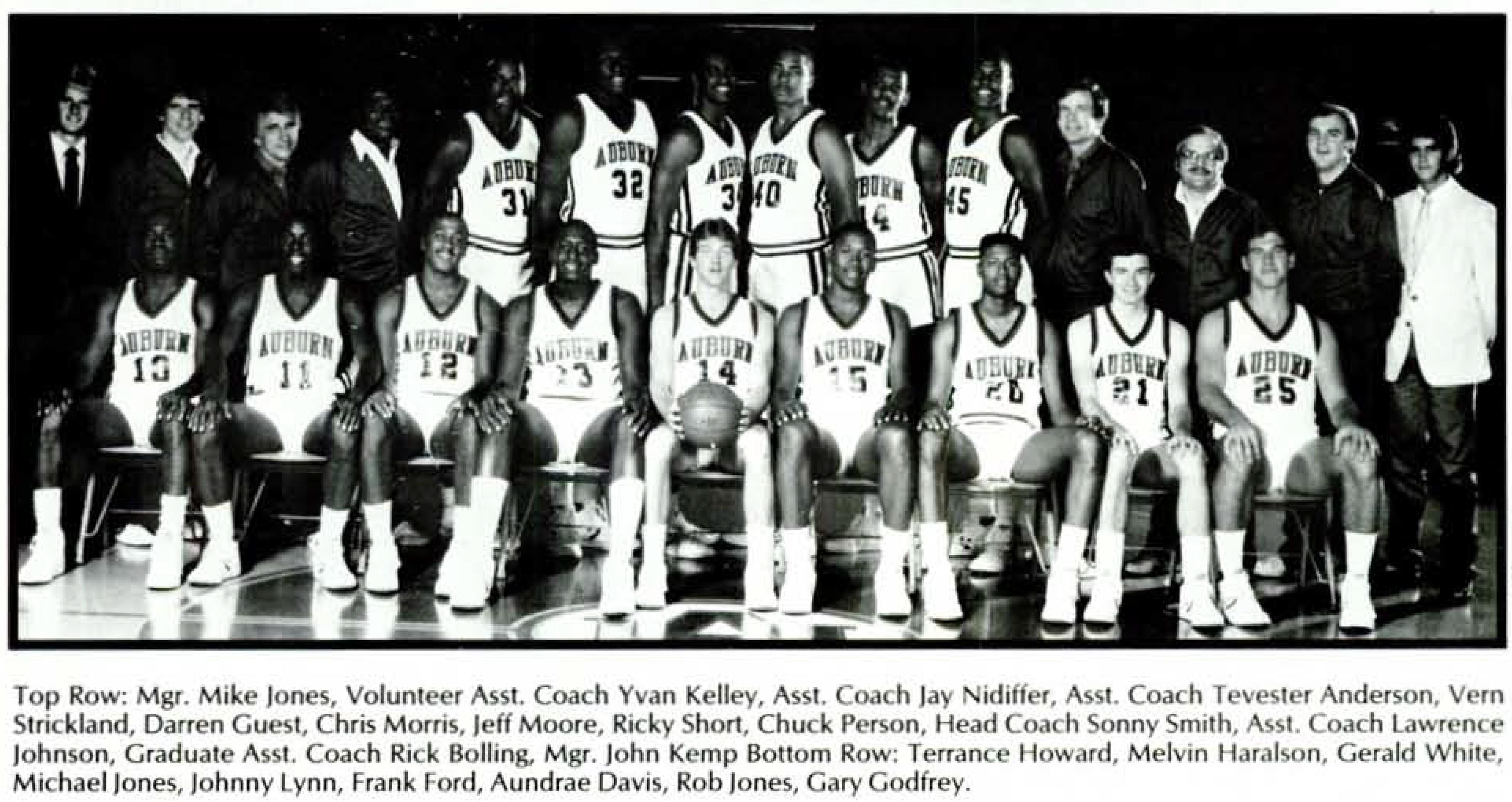 Men's team 1986