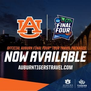 Official Auburn Final Four Tour Travel Packages Now Available auburntigerstravel.com
