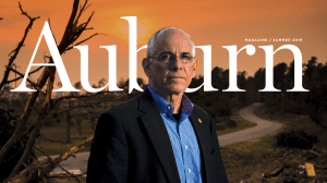 Auburn Magazine Summer 2019 Sheriff Jay Jones in Beauregard, AL