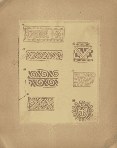 Native American inspired stamps