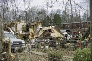 2019-03-08 Tornado Damage in Smiths Station