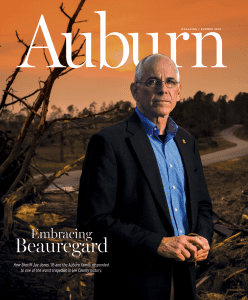 Auburn Magazine Summer 2019; Embracing Beauregard, How Sheriff Jay Jones '76 and the Auburn Family responded to one of the worst tragedies in Lee County history.