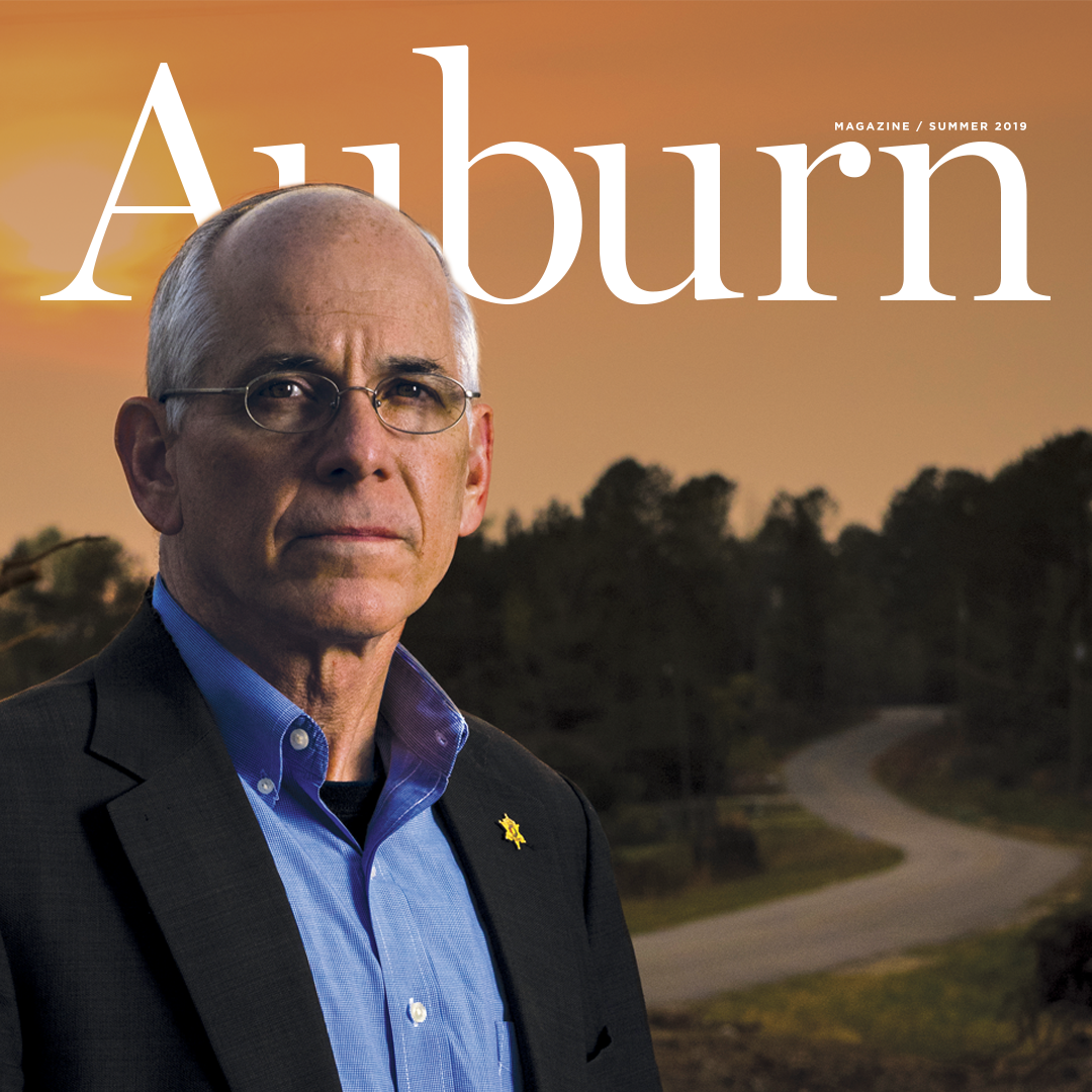 Auburn Magazine Summer 2019; Sheriff Jay Jones in Beauregard, Ala.