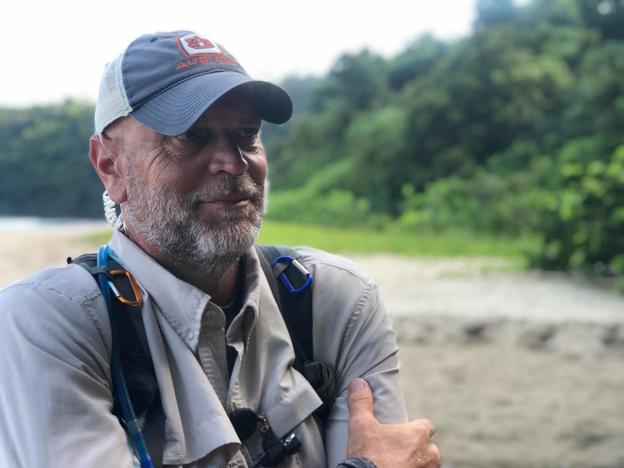 """Jim Morton '91: Out in the Wild with """"Naked & Afraid"""""""