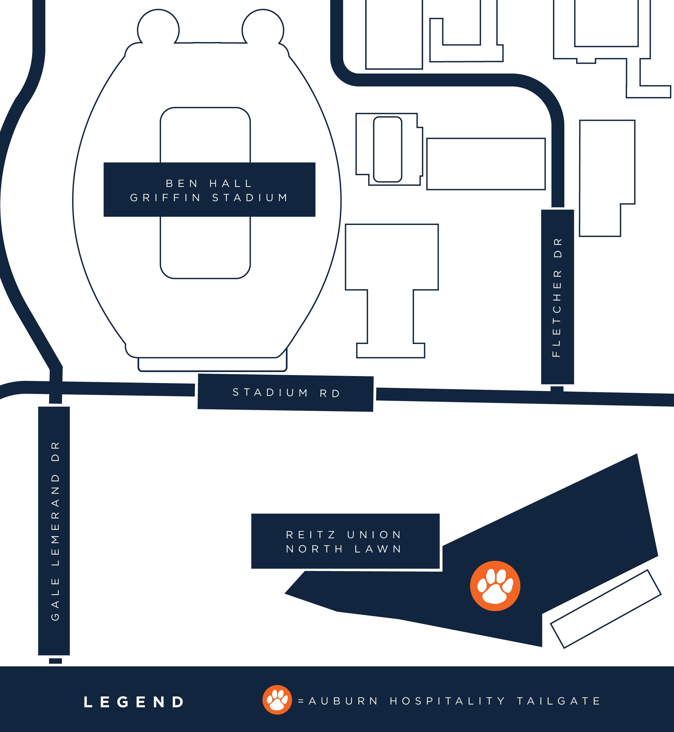 Alumni Tailgate - Florida Map