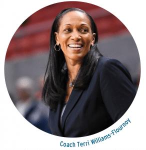 Coach Teri Williams-Fournoy