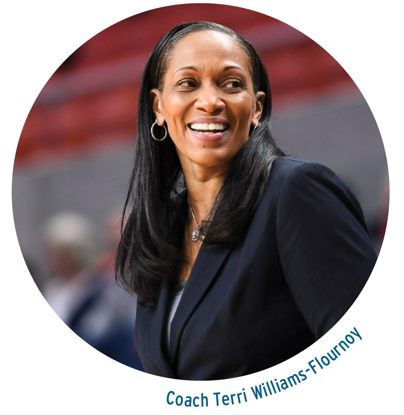 Coach Teri Williams-Fournoy