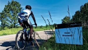Biker in Bo Bikes Bama