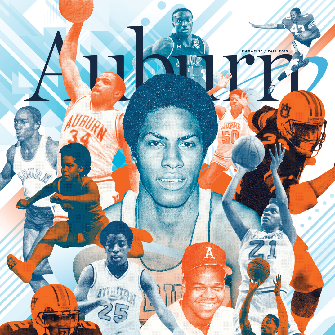 Auburn Magazine Fall 2019 Celebrating 50 years of integration of Athletics