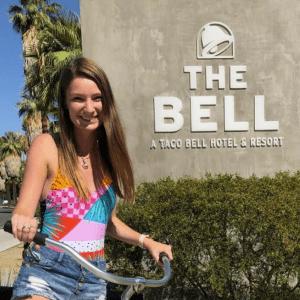 Allison Elrod at the Bell hotel