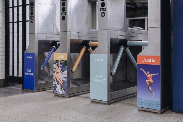 Andie turnstile ad
