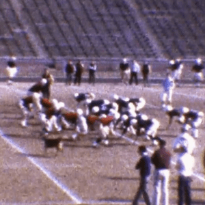 Dog Practices With 1964 Tigers Football Team