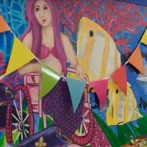 Students Paint New Mural for EAMC Pediatric Unit