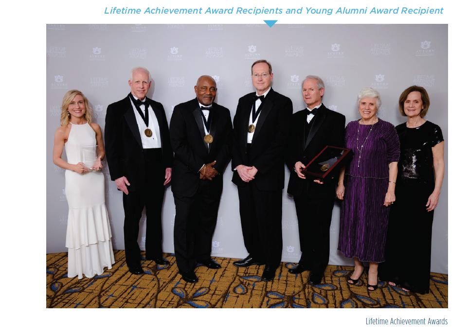 Lifetime Achievement Award Recipients and Young Alumni Award Recipient