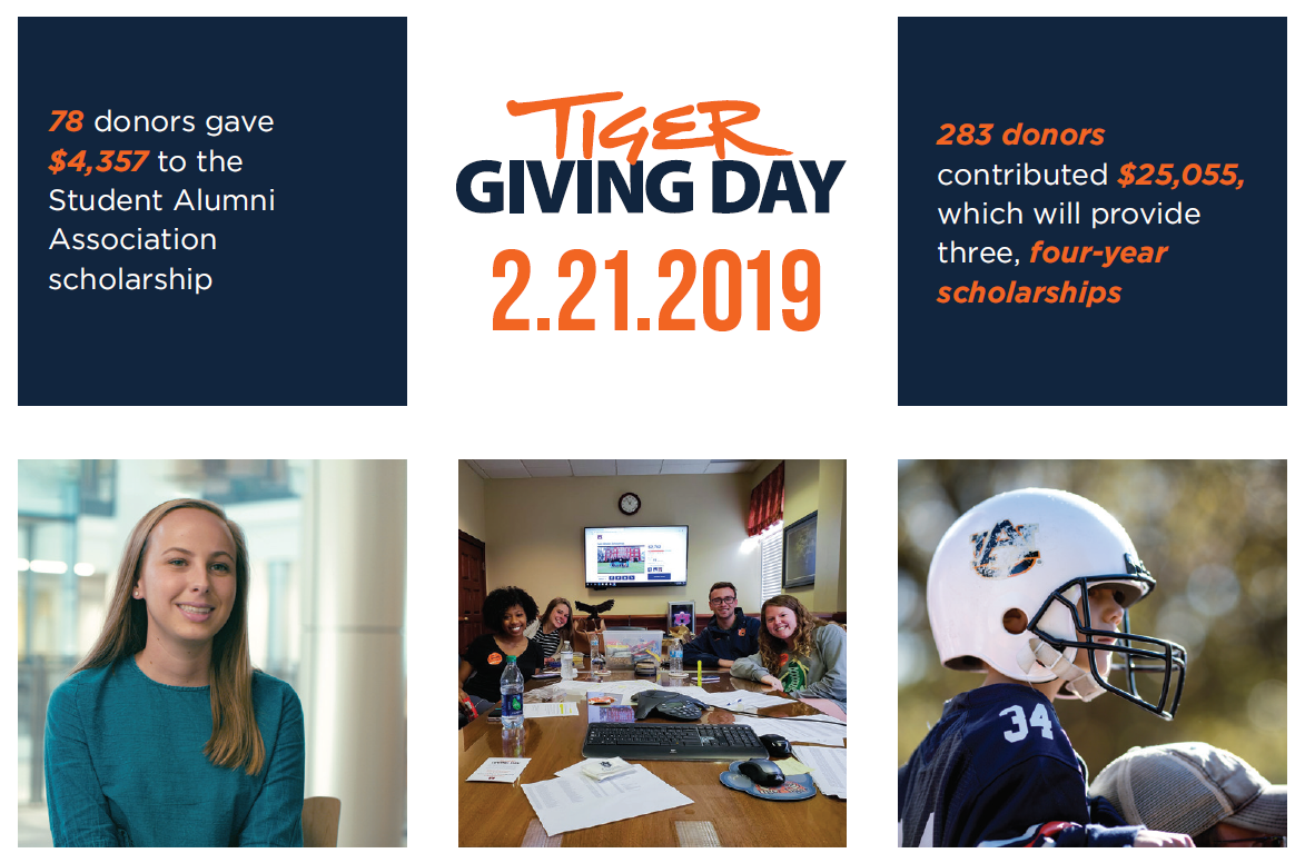 TIGER GIVING DAY