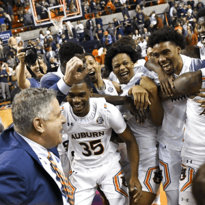 Auburn's March Madness Projections 3 Weeks Away