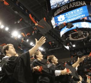 Auburn Finds Creative Ways to Honor Graduates