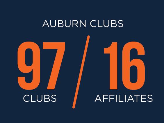 Auburn Clubs 97 / 16 Affiliates