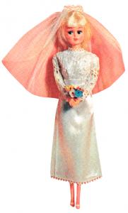 Vintage Barbie Bride