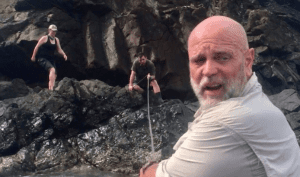 """JIM MORTON '91: OUT IN THE WILD WITH """"NAKED & AFRAID"""" Alumni profile for magazine ex 3"""