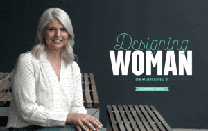 DESIGNING WOMAN Alumni Spotlight magazine article
