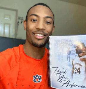 Community Honors Auburn University Senior Basketball Players