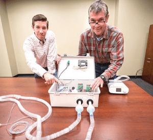 Auburn University Develops Emergency Ventilator weekly roar graphic 2