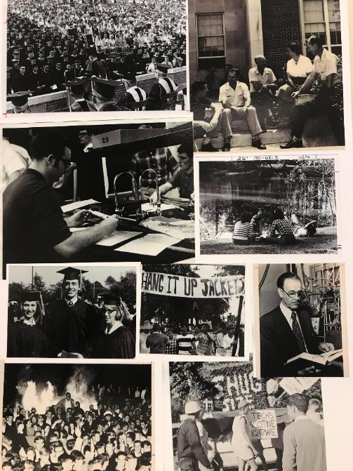 1970 Vintage images around Auburn University Campus 3