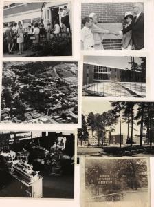 1970 Vintage images around Auburn University Campus