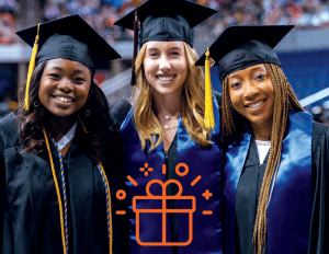 Give the grad gift of membership graphic
