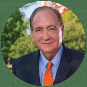 Dr. Gogue President Graphic headshot