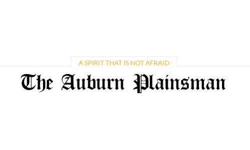 The Auburn Plainsman graphic for news