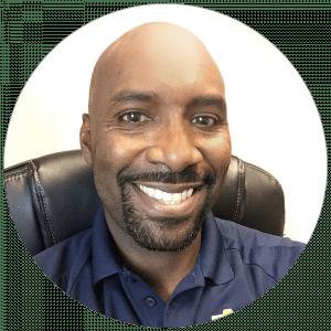 Dr. Damion McIntosh Headshot graphic Speaker Series