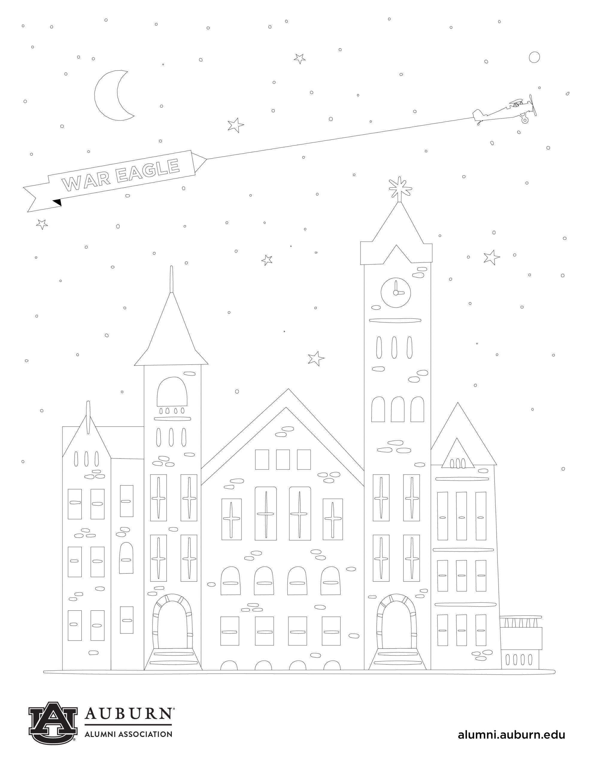 Samford Coloring Sheet 2020