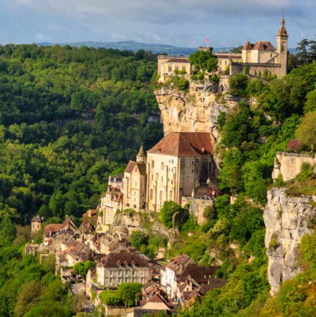 Vilage life of Dordogne